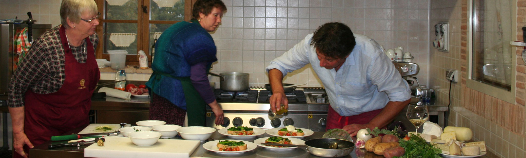 Cooking classes with visit to local cellars in Marche Italy