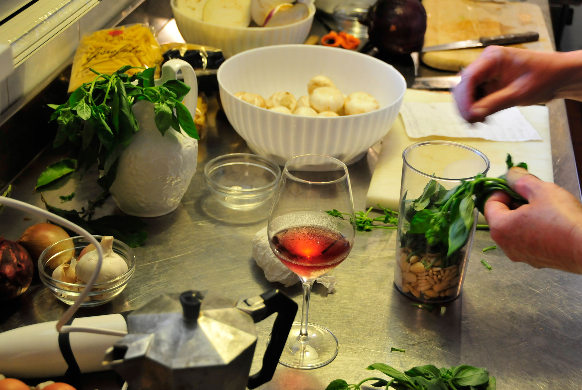 Cooking classes with visit to local markets in Marche Italy