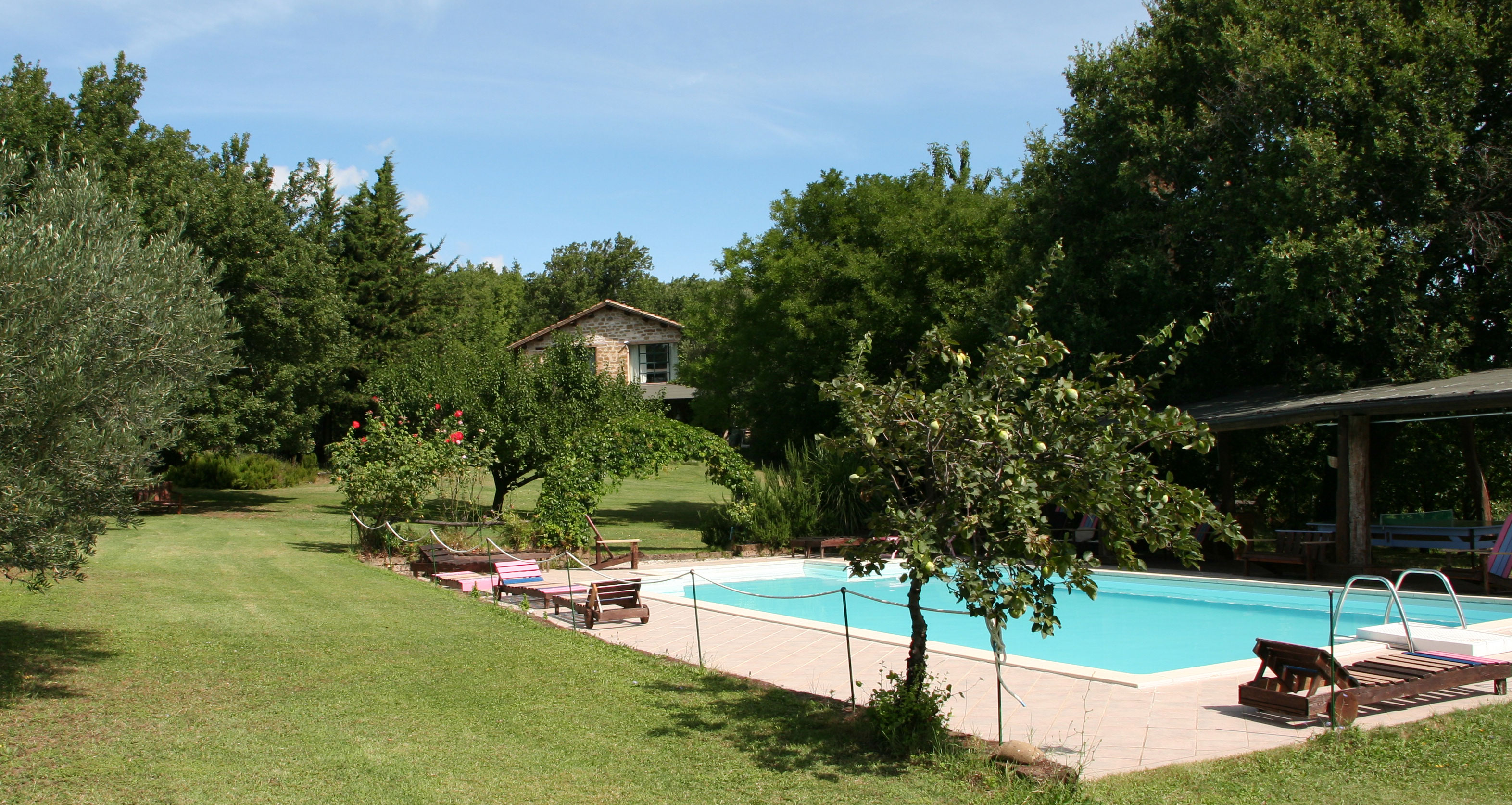 Villa with Pool in Marche Italy