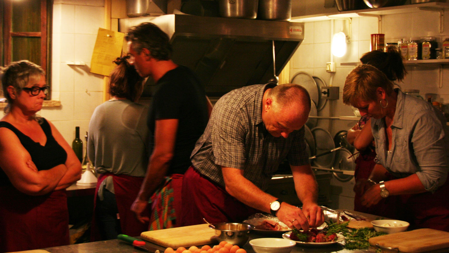 summer cooking classes in Marche Italy