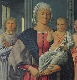 Piero della Francesca at Urbino, National Gallery of Marche