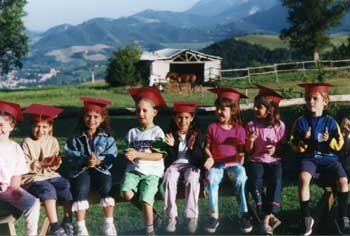 farmholidays for children in Italy.