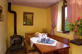 the kitchen, Self Catering in Marche