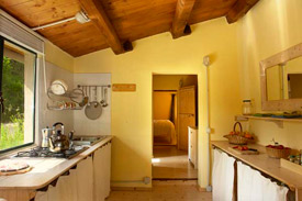 the kitchen, Villa Marche